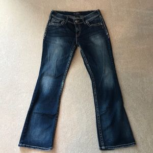 Bootcut Silver Jeans